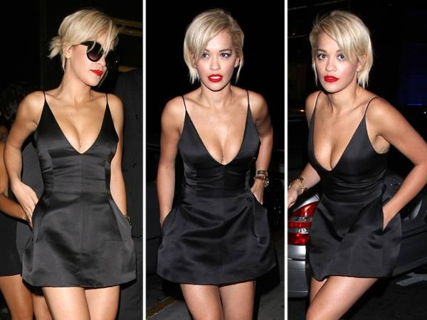 dress rita ora romper black dress black