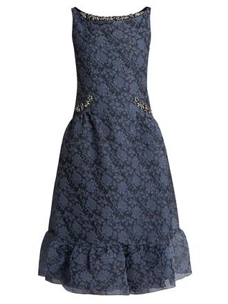 dress embellished grey