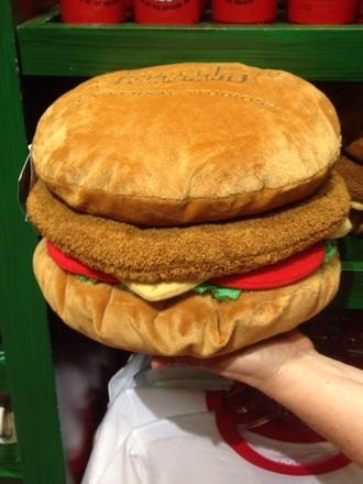stuffed animal hamburger