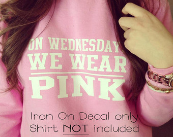 Popular items for we wear pink on Etsy