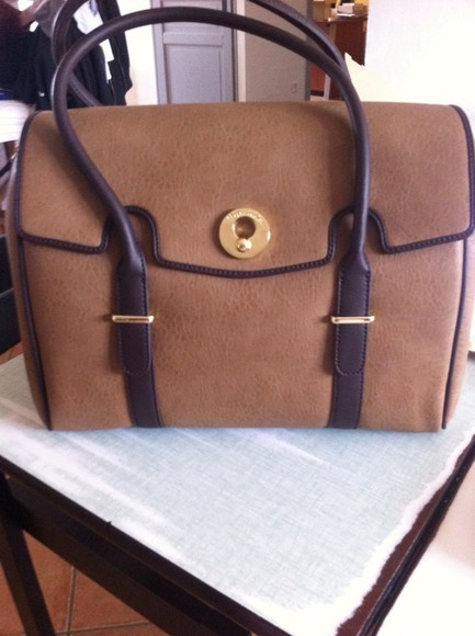 bag brown beige