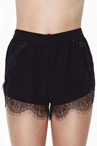 shorts lace lace shorts black black shorts black lace shorts