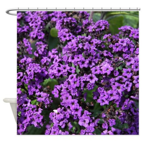 home accessory bathroom purple flowers floral shower curtain home decor home design cafepress purple