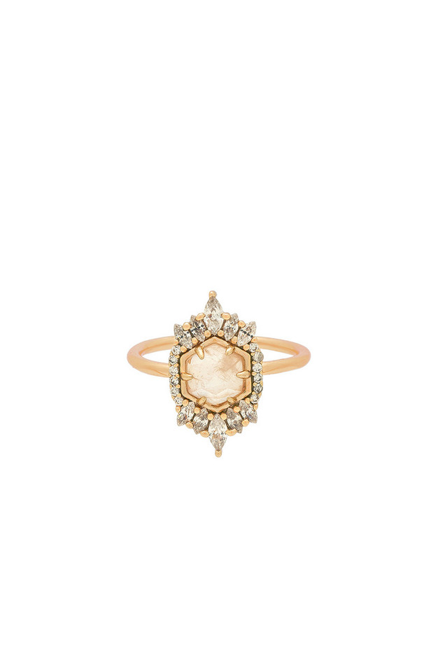 Melanie Auld by ARTEMIS Medina Ring in gold / metallic