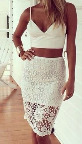 Katrina Lace Skirt
