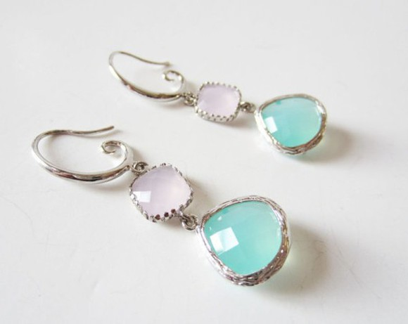 jewels earrings aqua aqua earrings