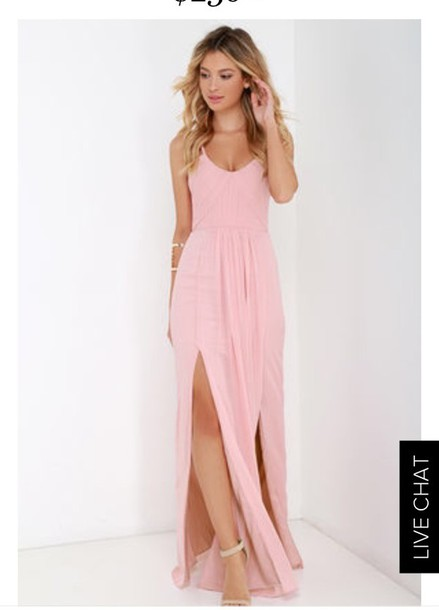 f41f043f22c Pink Spaghetti Strap Dress – Fashion dresses