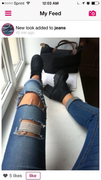 shoes bag black bag jeans instagram boots ankle bootie