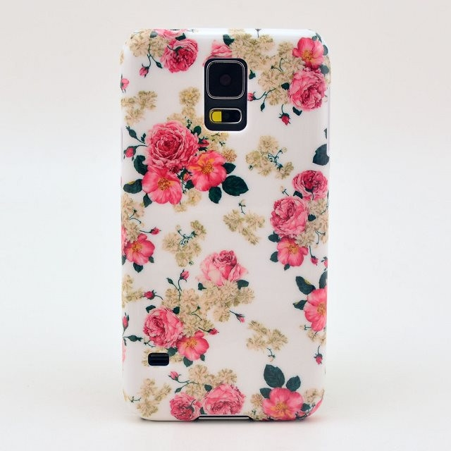 the latest f3fc5 c8f46 Freshly Picked Flowers Phone Case For The Samsung Galaxy S5 Phone With Cute  Flower Design