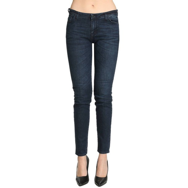 ARMANI JEANS pants women blue