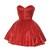 Red Sequin Tutu Dress | Style Icon`s Closet