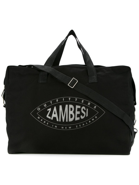 Zambesi women bag cotton print black