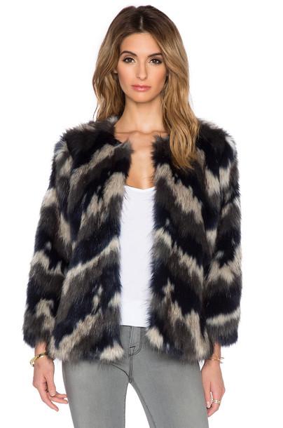 coat faux fur coat fur coat fur faux fur black