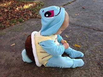 pajamas baby onesie pokemon clothes squirtle