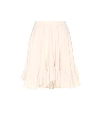 miniskirt silk skirt