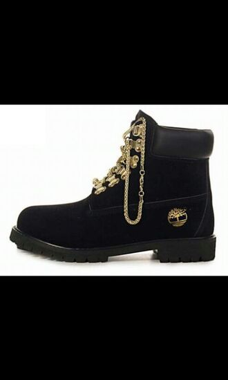 shoes timberlands boots black timberlands chain