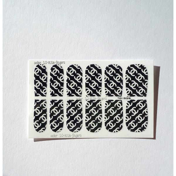 nail accessories nail art art stickers decals diy decoration wraps designer symbol brand logo nail polish nails