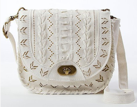 white bag bag white bags brown lace bag satchel bag