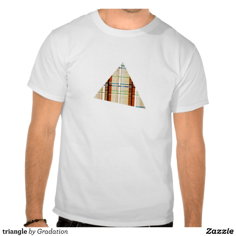 triangle tee shirts from Zazzle.com