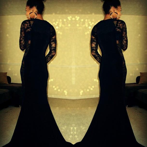dress lace dress lace black dress long dress maxi dress
