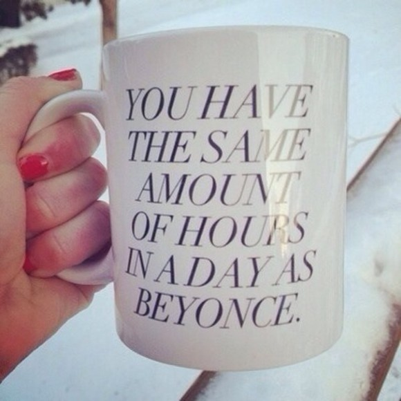 quote on it beyoncé mug