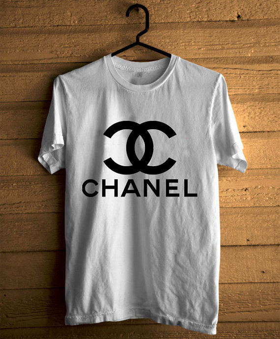New Chanel Logo Men 39 S Tshirt White Color Size S By