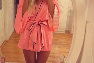 dress pajamas victoria's secret kimono