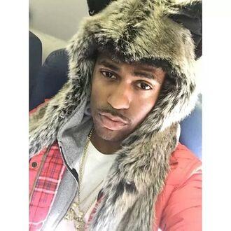 hat bigsean @bigsean @idfwu @shirtt mens accessories fur