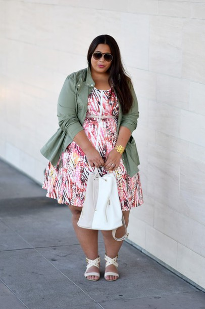 Women\'s Plus Size Twill Jacket Apple Green-Ava & Viv