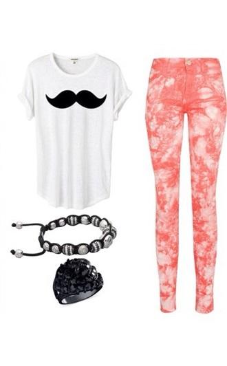 shirt moustache