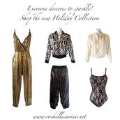 jumpsuit,rochelle carino,sparkle,sequin jumpsuit,gold jumpsuit,gold sequins,black sequins,sequin pants,sequin jacket,zebra print,black and white,bomber jacket,bodysuit,lace,lace bodysuit,faux fur jacket,sequin bodycon,animal print,jacket,pants,new year's eve