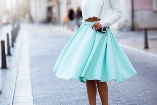 skirt blue skirt turquoise