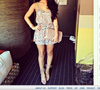 cute jewels heels romper sparkly beaded classy clubwear dressed up clutch