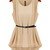 Pleated Layer Top - Nude Pink