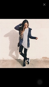 jacket,dark blue jacket,coat