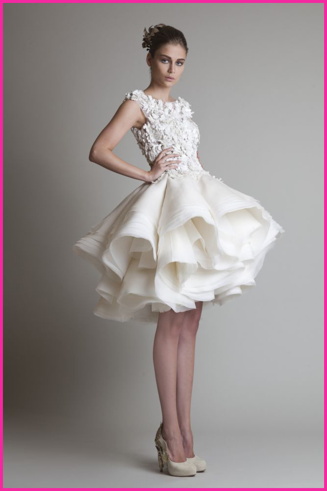 Bridal Gowns Knee Length