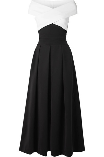PREEN BY THORNTON BREGAZZI dress midi dress midi black