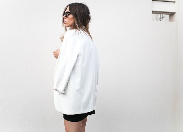 modern legacy jacket t-shirt skirt sunglasses