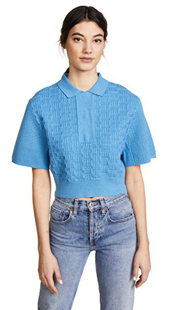 shirt collared shirt cropped top