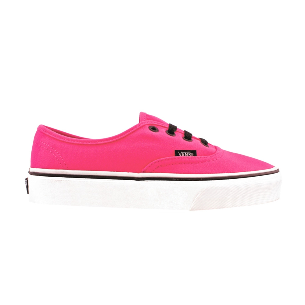 Vans Authentic Skate Shoe, Neon Pink | Journeys Shoes