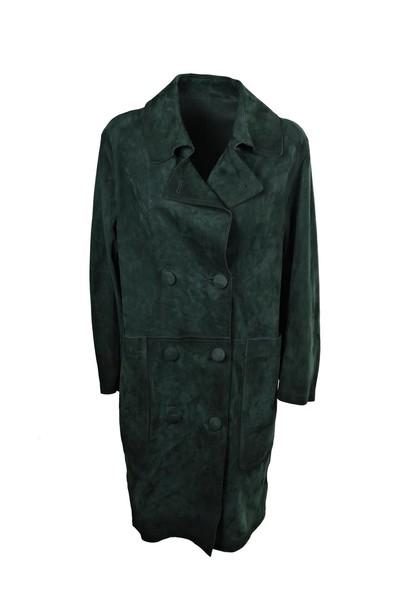 Golden goose coat green