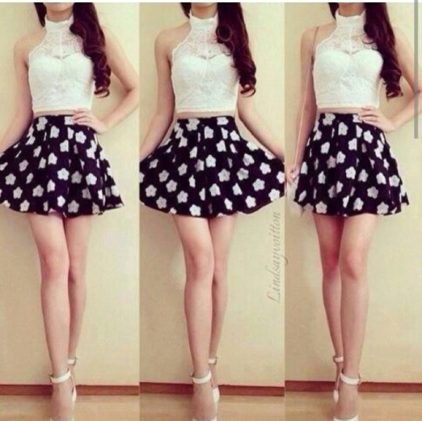 skirt casual blackskirt