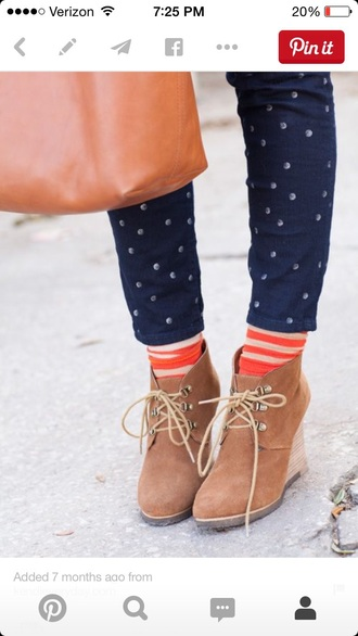 shoes heels jeans dotted cute cute jeans cute outfits nice nice outfit girly girly outfits tumblr blue denim