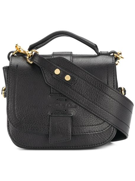 L'Autre Chose women bag shoulder bag leather black