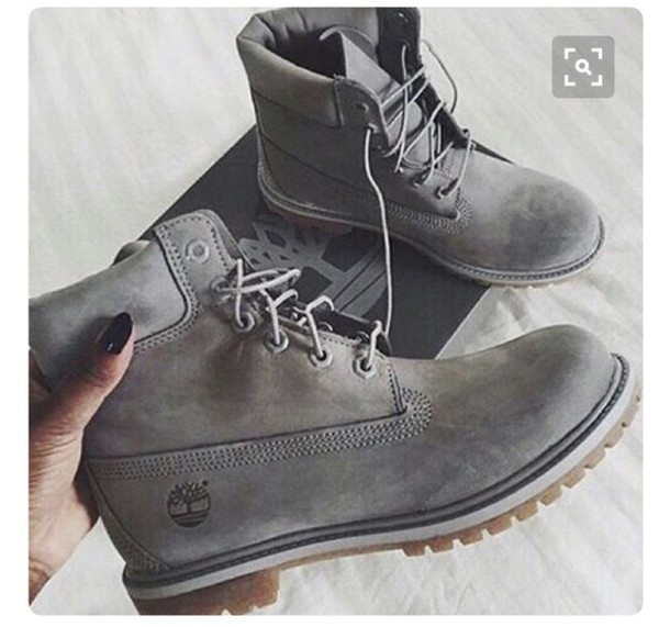 b1e50a080ae2 shoes womens shoes timberlands women s timberlands grey timberlands grey  shoes grey boots boots timberland boots grey