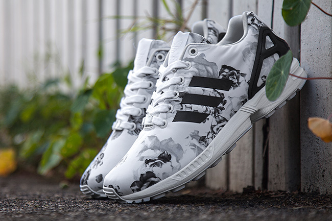 low priced b872d 7af29 Sneaker Central - ADIDASÂ ZX FLUX FLORAL (WMS) - Foot Locker