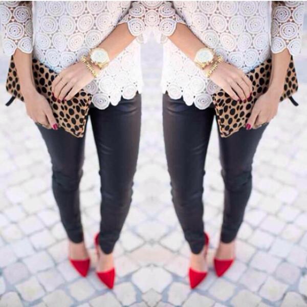 shirt blouse pants shoes jewels jeans bag