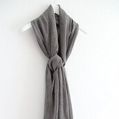scarf,grey,leisure