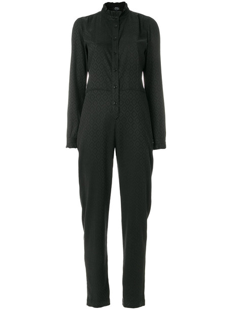 A.P.C. jumpsuit women spandex black