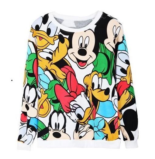 Cartoon hoodie color